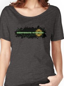 Corporate Warfare $ Women's Relaxed Fit T-Shirt