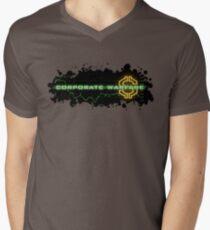 Corporate Warfare $ Mens V-Neck T-Shirt