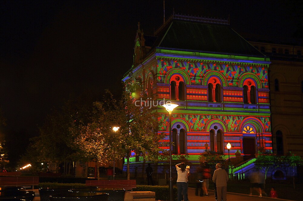 Northern lights lighting display adelaide festival for 21 south terrace adelaide
