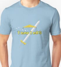 TempleOS Logo Pure Slim Fit T-Shirt