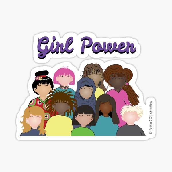 Girl Power   Celebrating Women Around the World Sticker