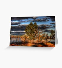 Afternoon by the Lake Greeting Card