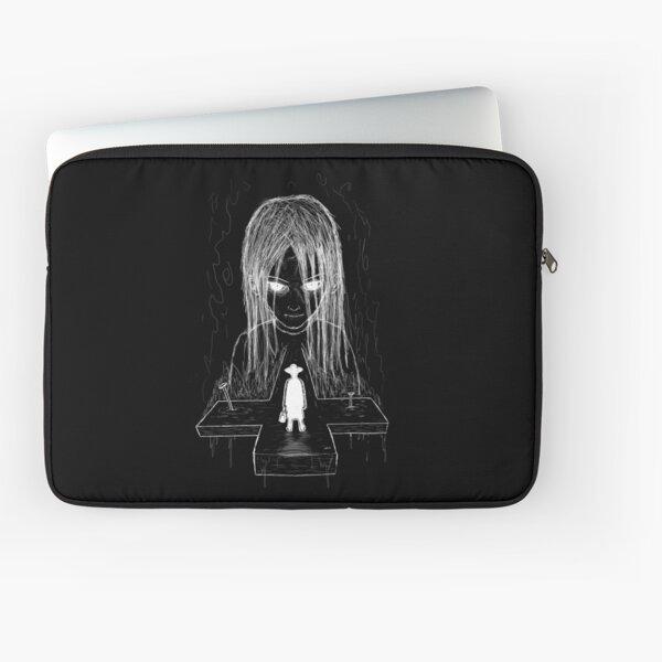 exorcist - bw (white version) Laptop Sleeve