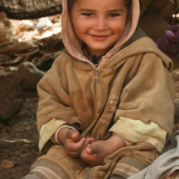 Berber Child by deltagphoto