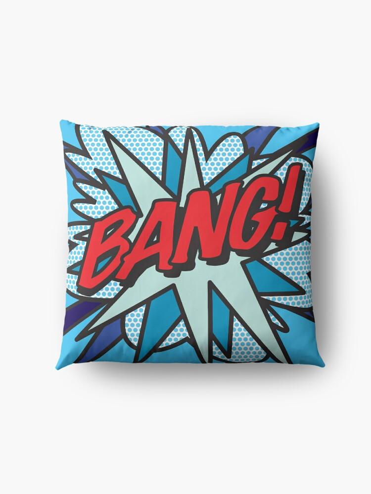 Alternate view of BANG Comic Book Pop Art Modern Fun Graphic Floor Pillow