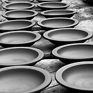 Drying Bowls by deltagphoto