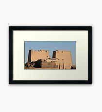 Edfu Temple Framed Print