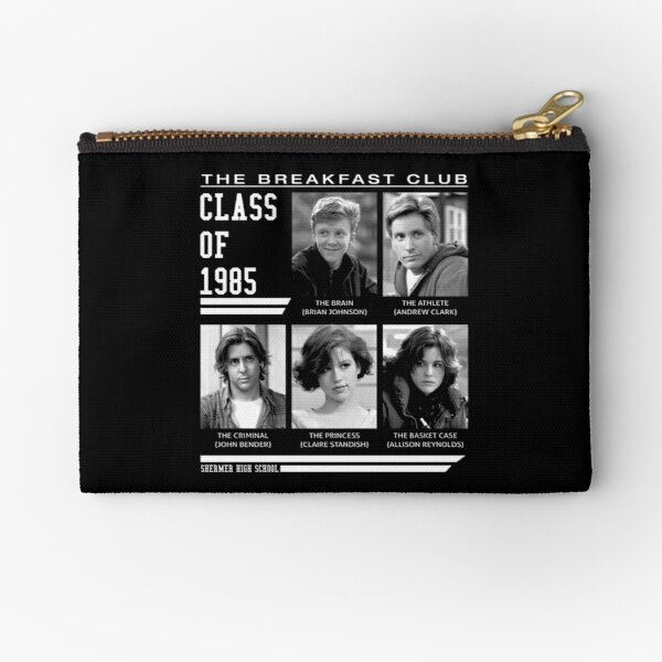Breakfast Club Class Of 85 Zipper Pouch