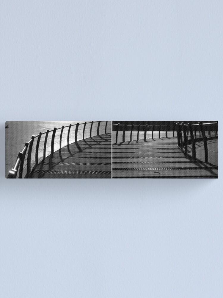 Alternate view of Floating Bridge (diptych 3/4) Canvas Print