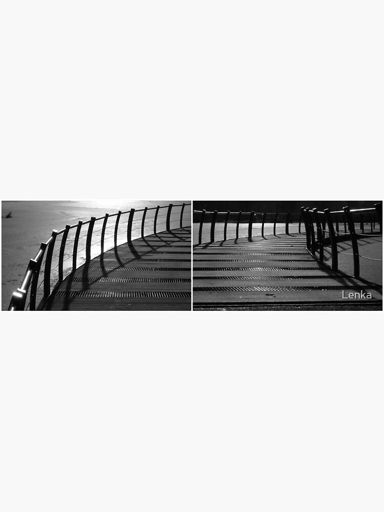 Floating Bridge (diptych 3/4) by Lenka