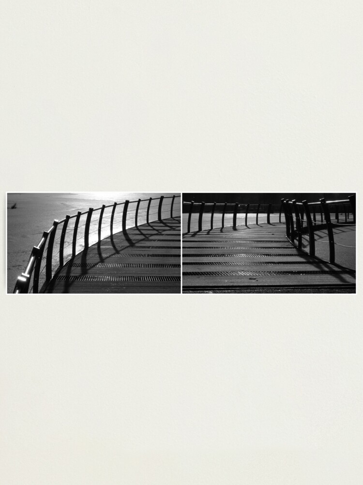 Alternate view of Floating Bridge (diptych 3/4) Photographic Print