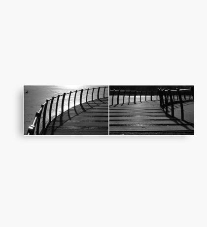 Floating Bridge (diptych 3/4) Canvas Print