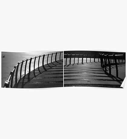 Floating Bridge (diptych 3/4) Poster