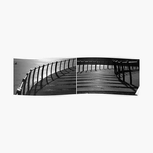 Floating Bridge (diptych 3/4) Poster