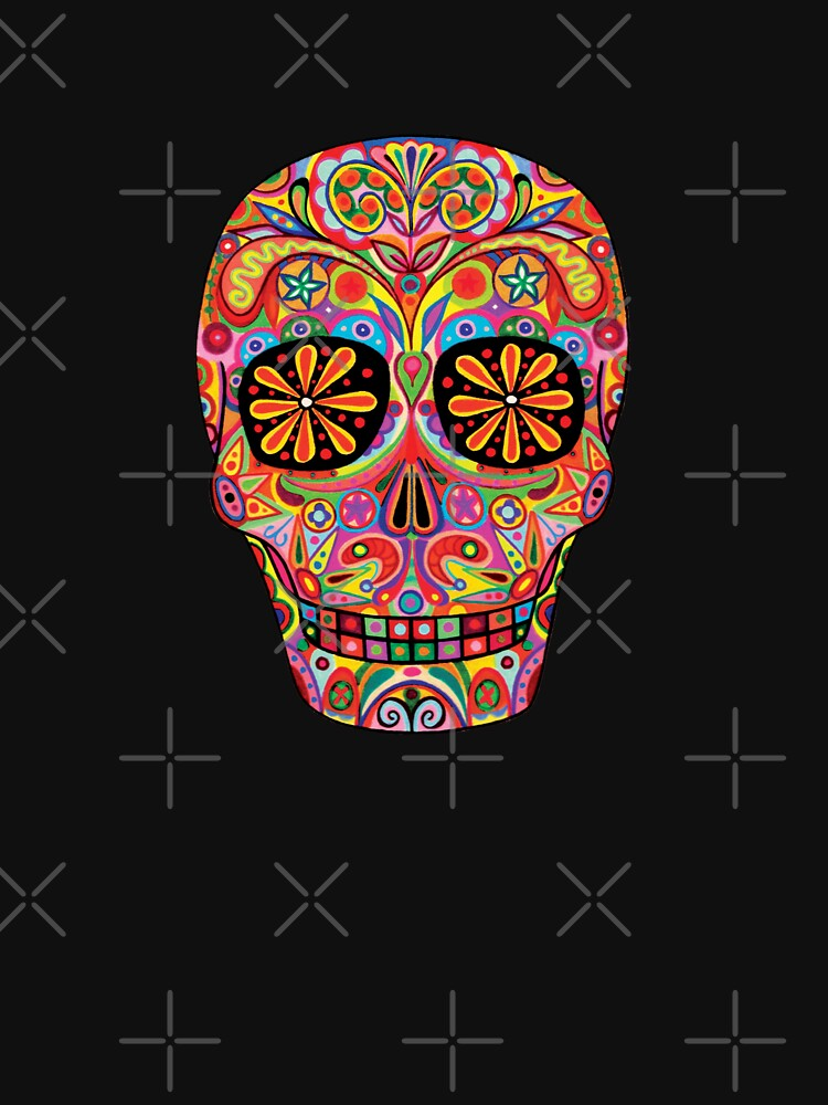 Day of the Dead Sugar Skull shirt | Unisex T-Shirt