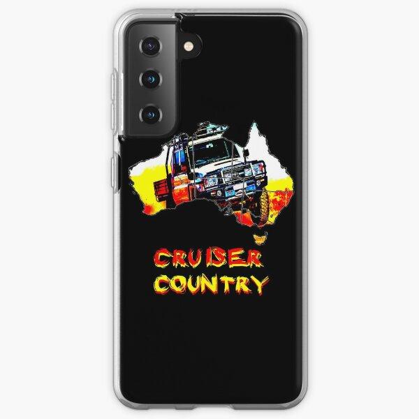 "toyota australian 79 ""cruiser country"" Samsung Galaxy Soft Case"