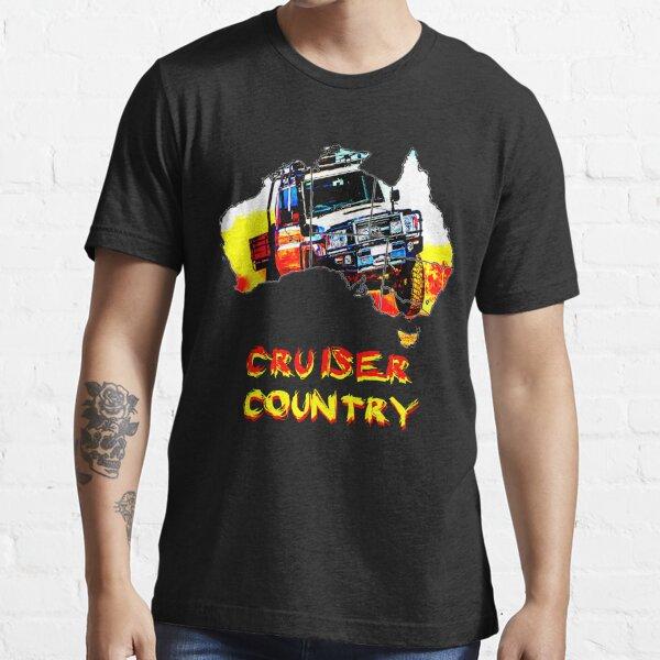 "toyota australian 79 ""cruiser country"" Essential T-Shirt"