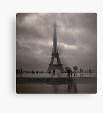 Damien's Paris Holiday Metal Print