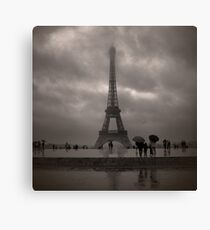 Damien's Paris Holiday Canvas Print