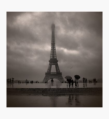Damien's Paris Holiday Photographic Print