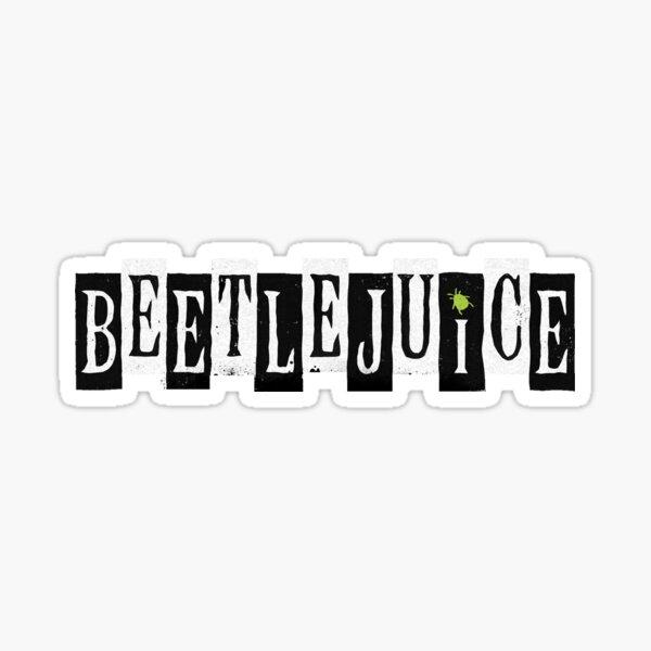Beetlejuice Musical Broadway Logo Sticker