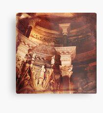 Past Imperfect - Cathedral Split, Croatia Metal Print