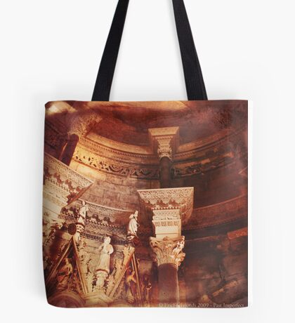 Past Imperfect - Cathedral Split, Croatia Tote Bag
