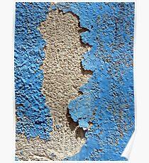 Peeling Paint-Tlacotalpan, Veracruz Poster