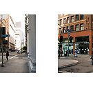 6th Street + Spring Street, Downtown, Los Angeles, California, USA...narrowed. by David Yoon