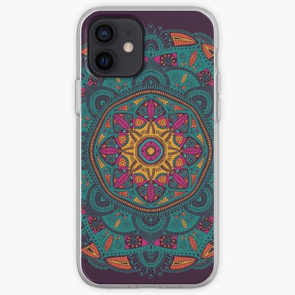 Colorful Mandala Pattern 005 iPhone Soft Case