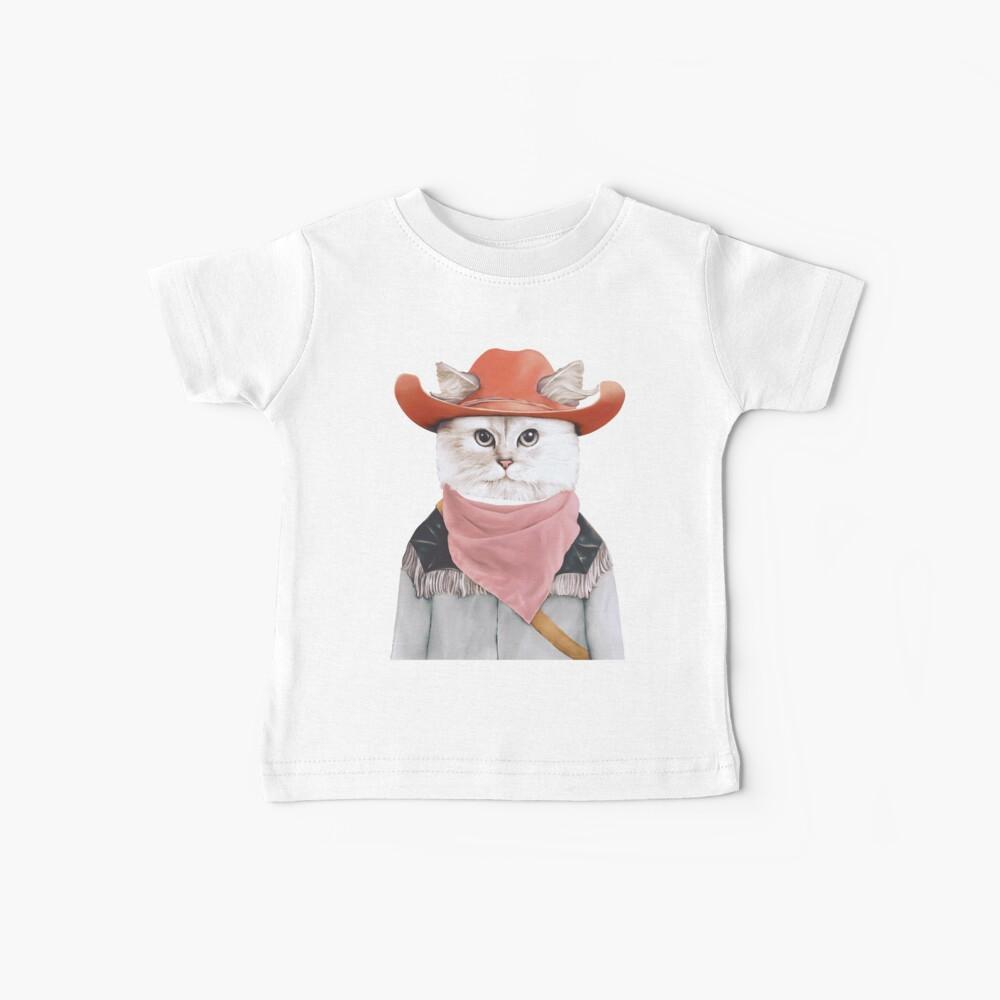 Rodeo Cat Baby T-Shirt