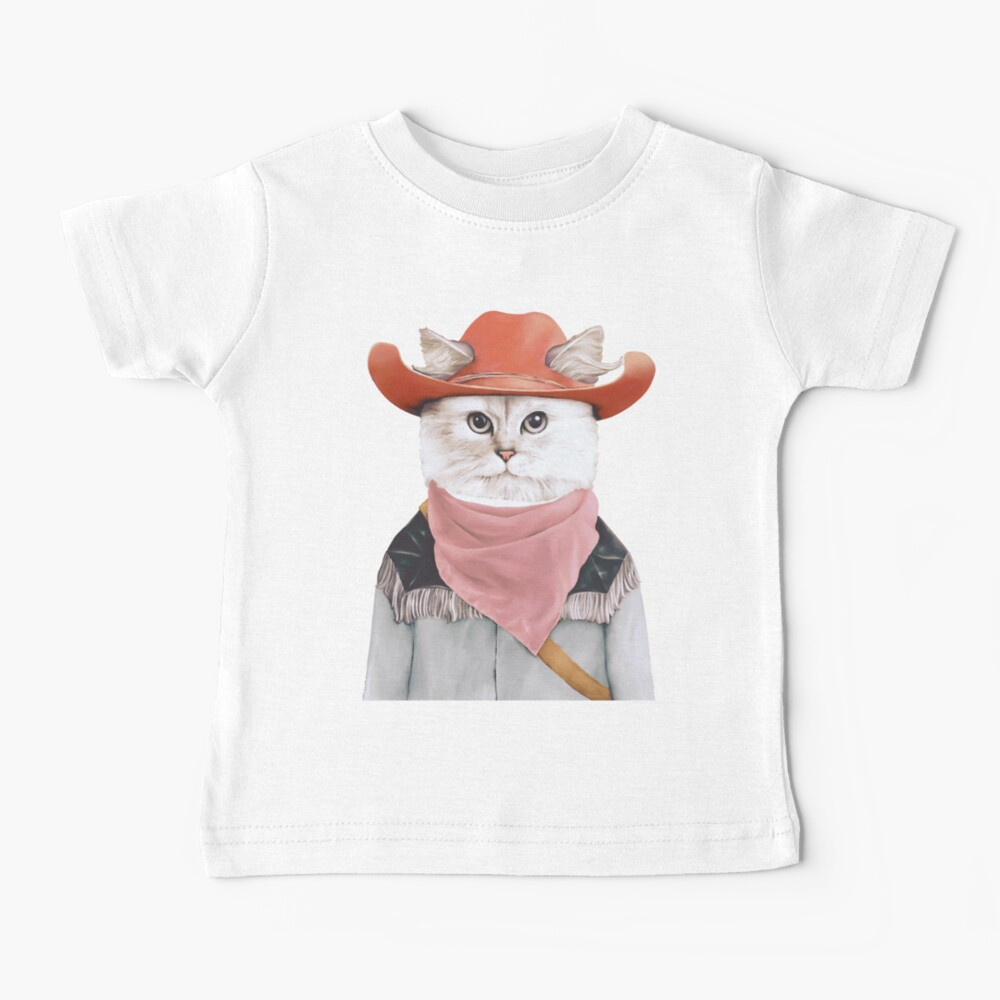 Rodeo Cat Baby T-Shirt