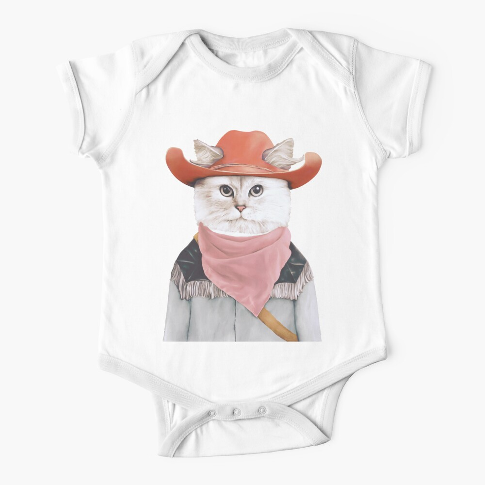 Rodeo Cat Baby One-Piece