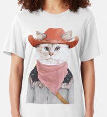 Rodeo Cat Slim Fit T-Shirt