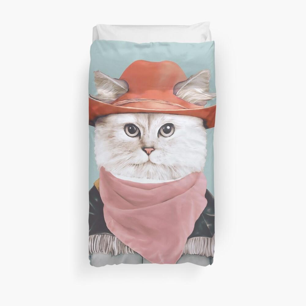 Rodeo Cat Duvet Cover