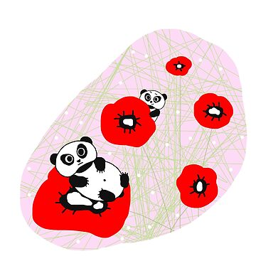 tokyo cute panda by burenkaUA