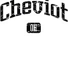 Cheviot Ohio OH Vintage Style Faded Tee from Hometown Tees von HometownTees