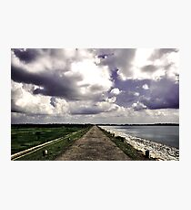 The uncharted path Photographic Print