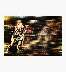 Roller Derby Girls II Photographic Print