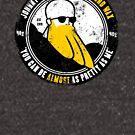 Johnny Bravo's Miracle Beard Wax by Dan Widdowson