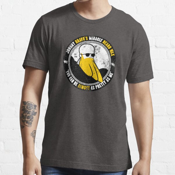 Johnny Bravo's Miracle Beard Wax Essential T-Shirt
