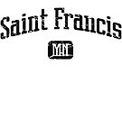 Saint Francis Minnesota MN Vintage Style Faded Tee from Hometown Tees von HometownTees