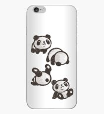 Rolling panda iPhone Case
