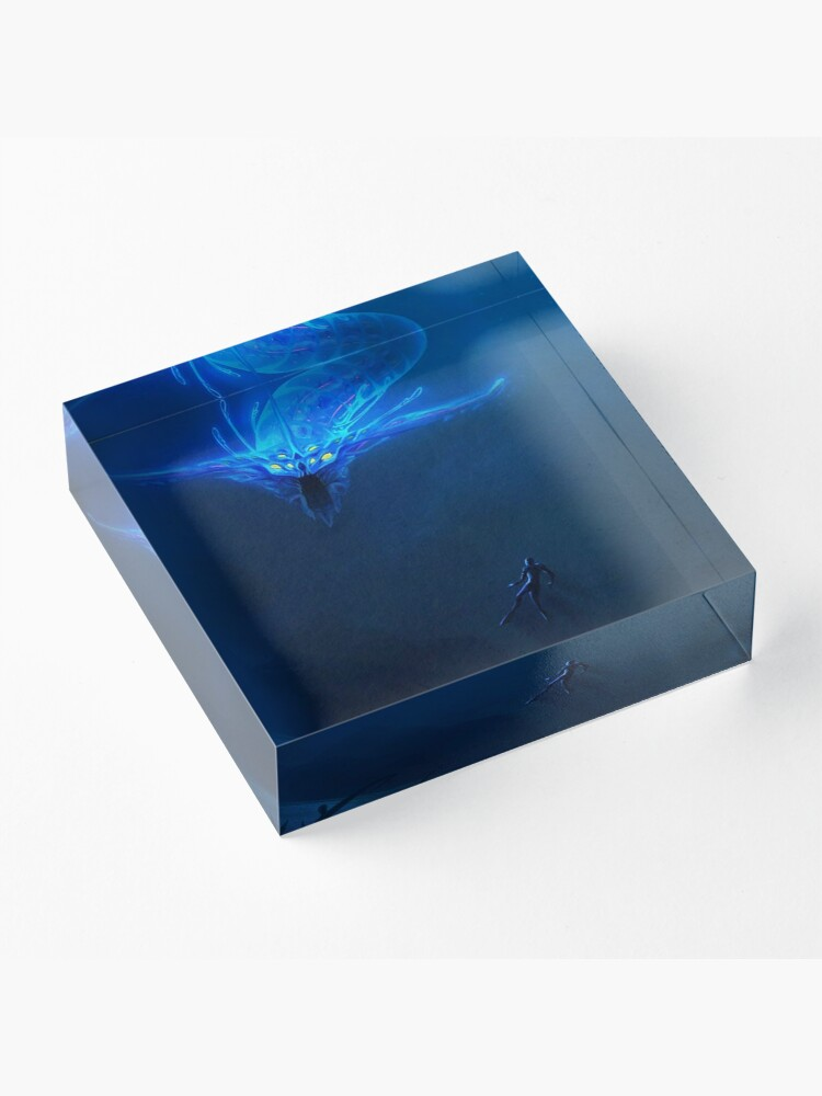 Alternate view of Subnautica - Leviathan Acrylic Block