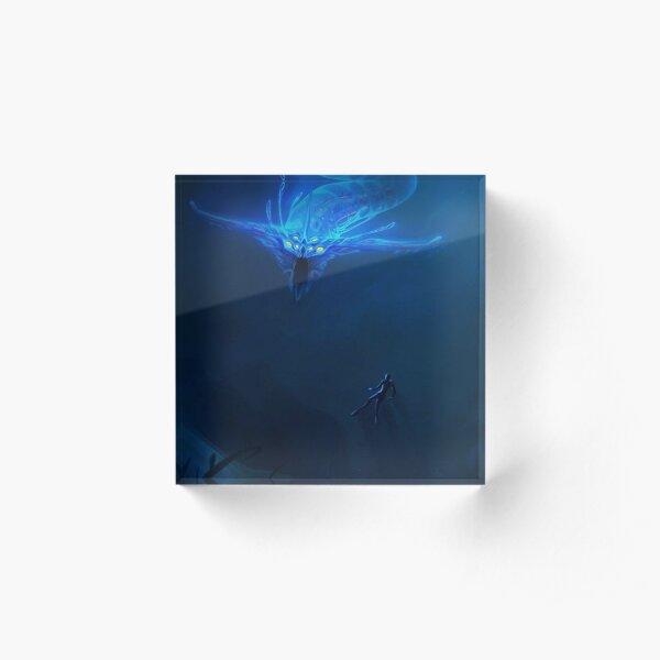 Subnautica - Leviathan Acrylic Block