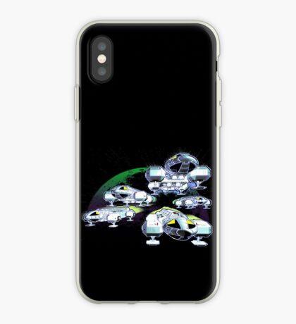 Soaring Eagles Back iPhone Case