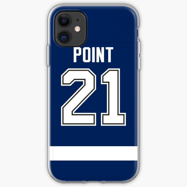 Tampa Bay Lightning Brayden Point Home Jersey Back Phone Case iPhone Soft Case