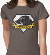 Diamond Dogs (MGSV) Women's Fitted T-Shirt