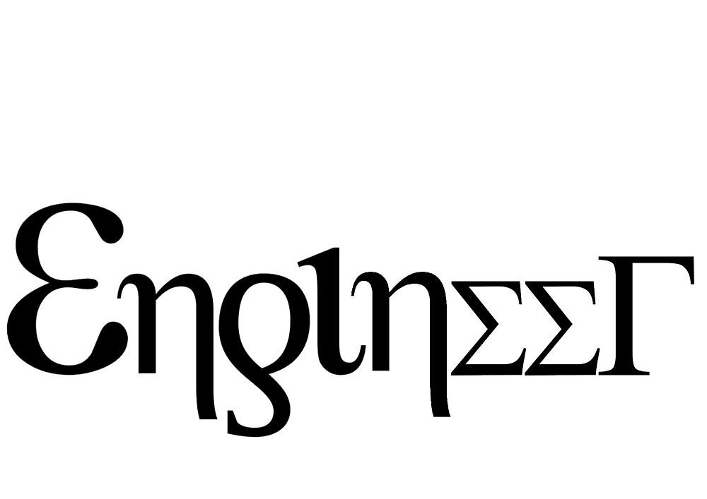 Engineer - Greek letters by brzt
