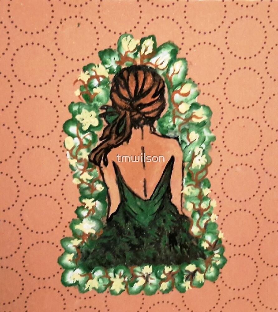 Green Dress by tmwilson